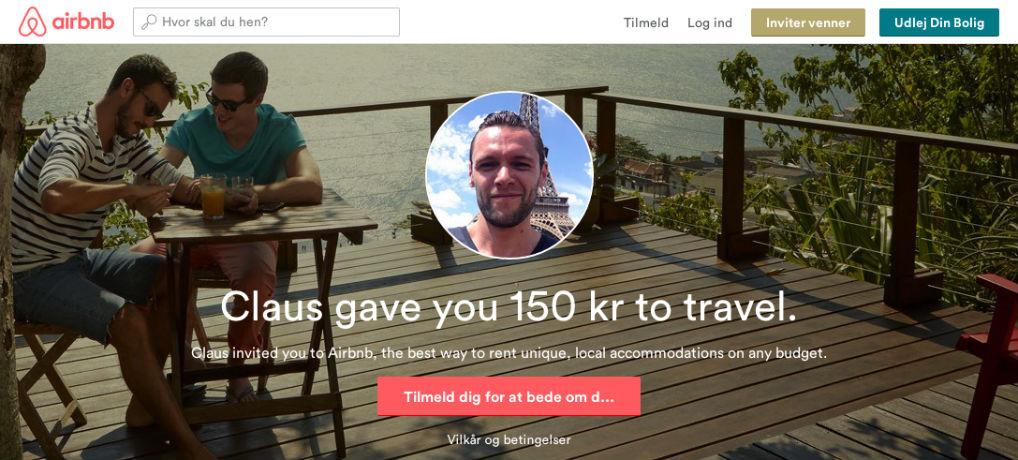 airbnb kuponkode sign up bonus