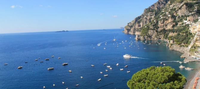 Skønne Campania i Syditalien