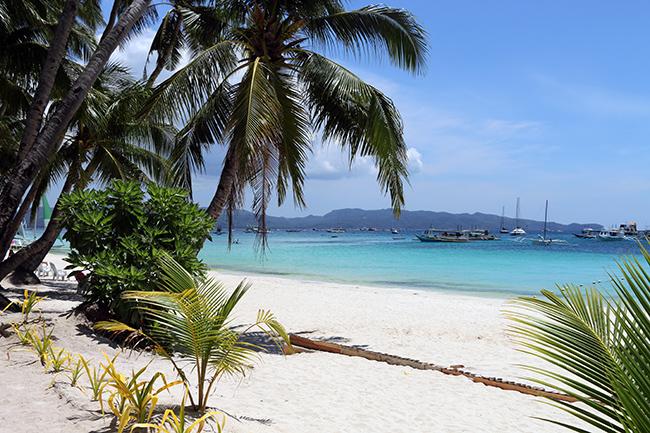 Stranden på Boracay - JustBrowsing.dk