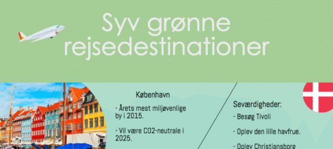 Syv grønne rejsedestinationer